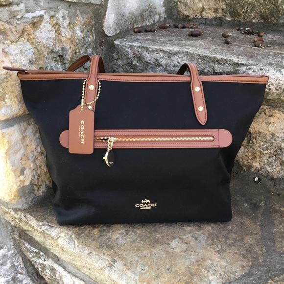 Coach Handbags - Coach Sawyer Tote Bag